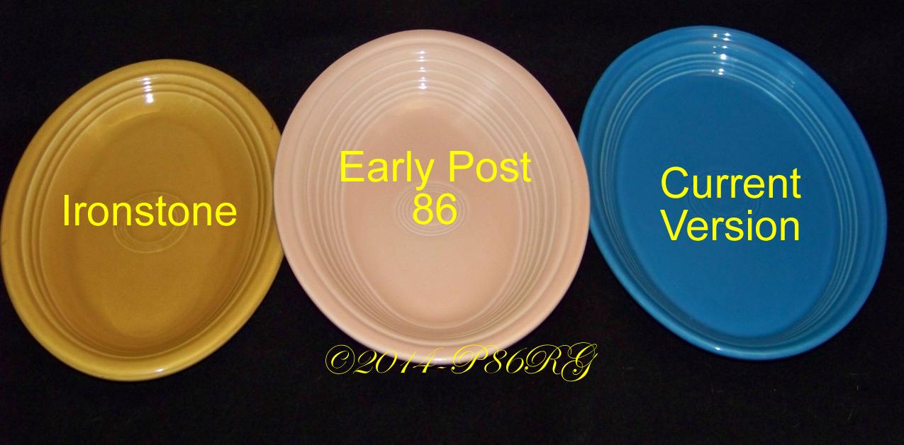 Fiesta® Small Platter Comparison