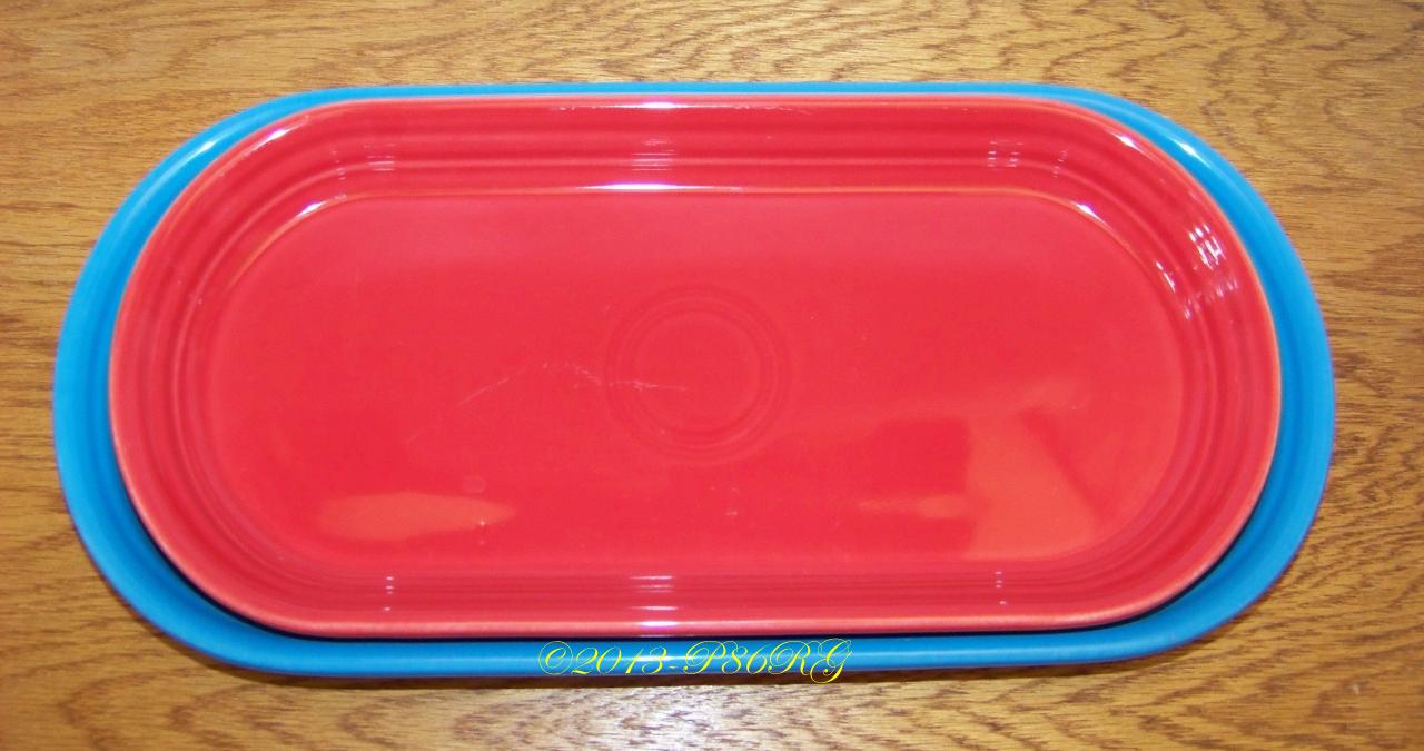 Fiesta® Bread trays nesting inside each other.