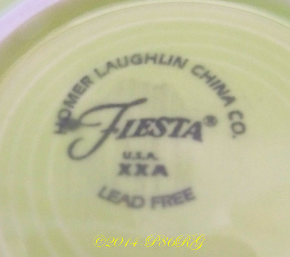 Fiesta® Back Stamp - Ink Stamp - No Genuine Version