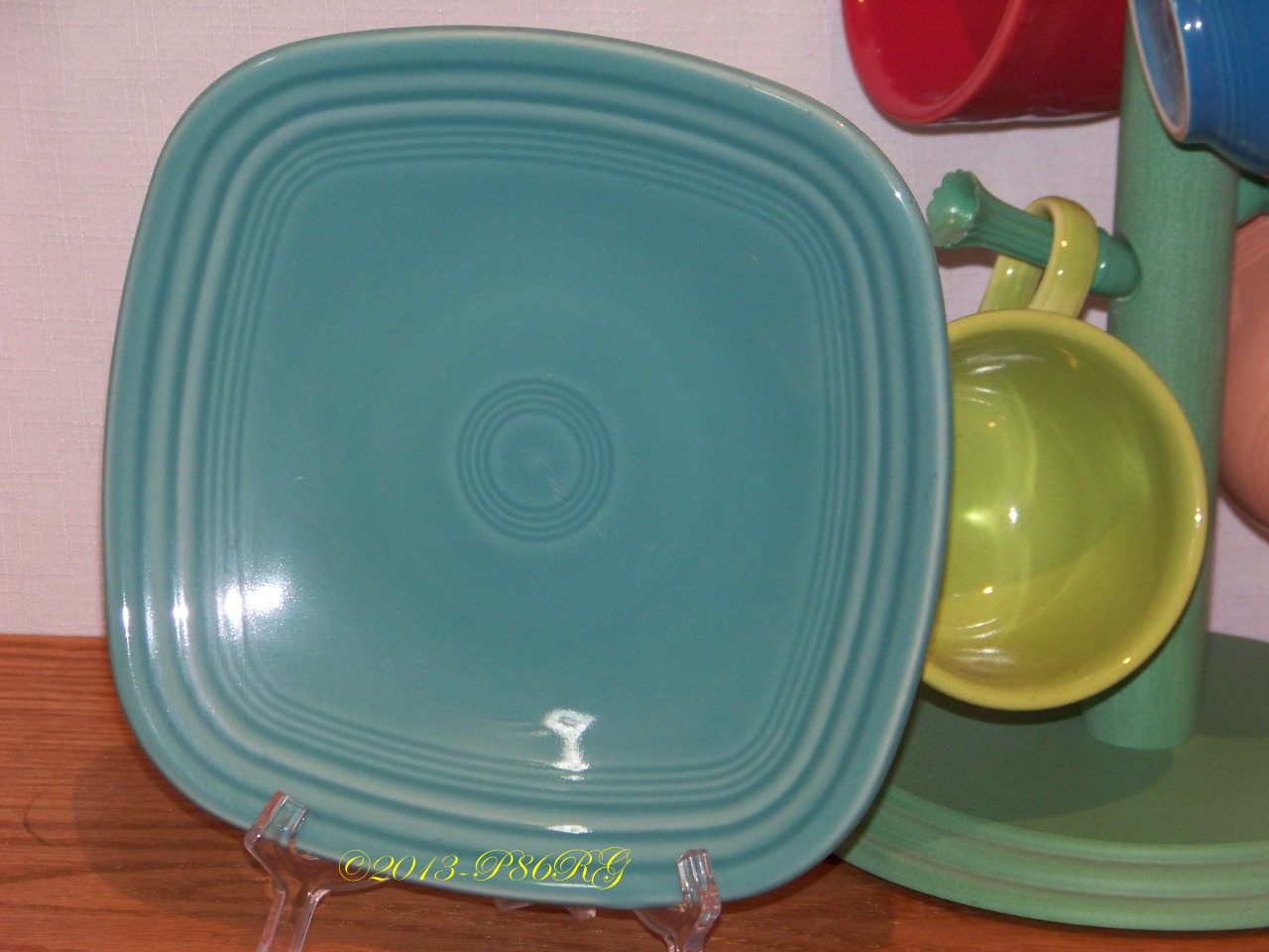 Click here to see a photo of a square salad plate ... & Fiesta® Plates